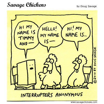 Savage Chickens Comic Strip for November 18, 2014
