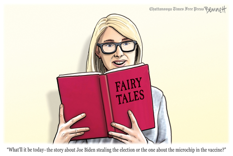 Clay Bennett Comic Strip for April 07, 2021