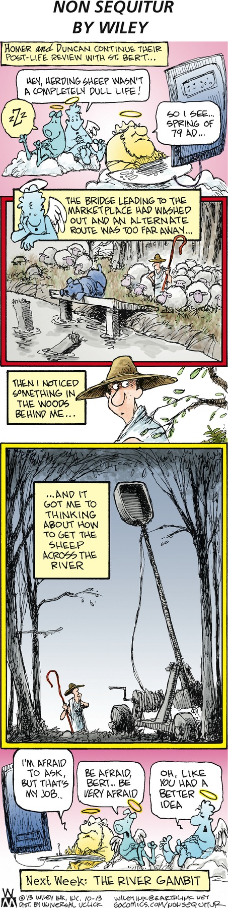 Non Sequitur Comic Strip for October 13, 2013