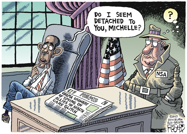 Rob Rogers Comic Strip for November 03, 2013