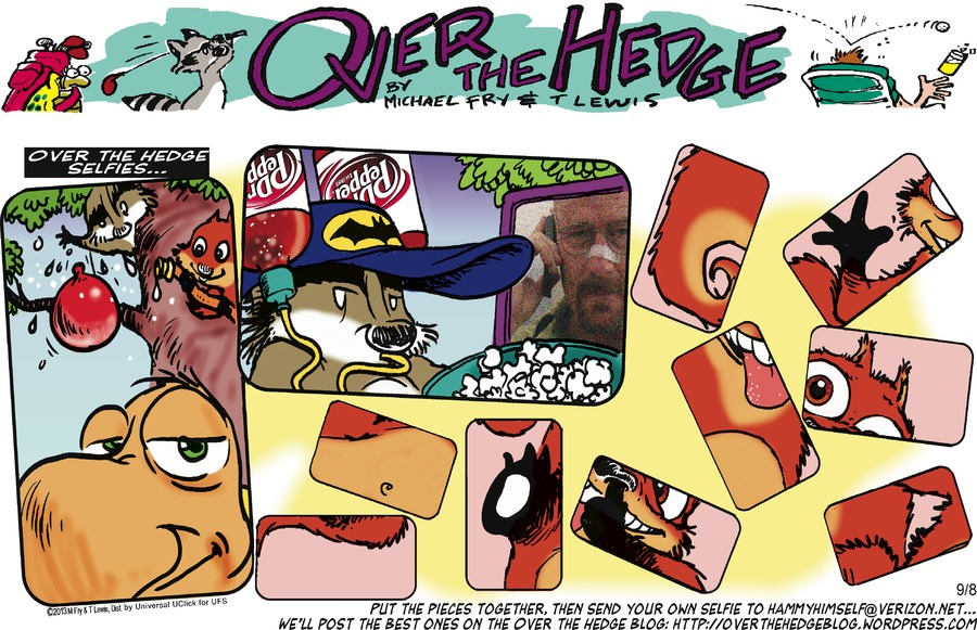 Over the Hedge for Sep 8, 2013 Comic Strip