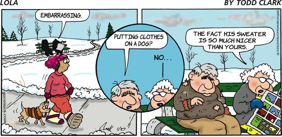 Lola for Jan 27, 2013 Comic Strip