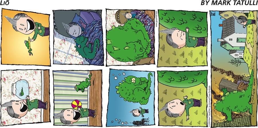 Lio for Nov 12, 2006 Comic Strip