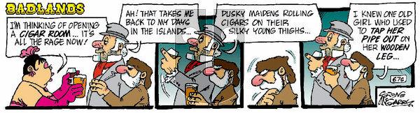Badlands on Saturday March 6, 2021 Comic Strip
