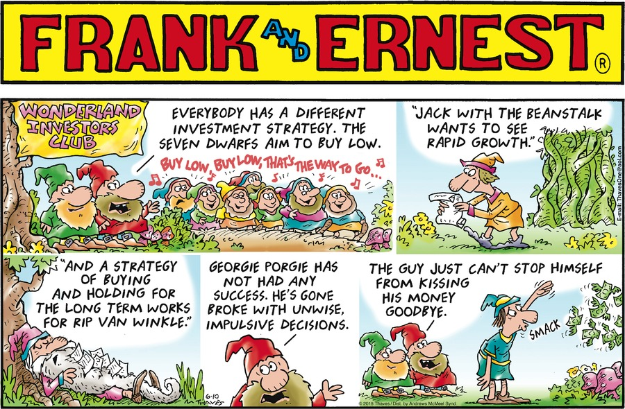 Frank and Ernest Comic Strip for June 10, 2018