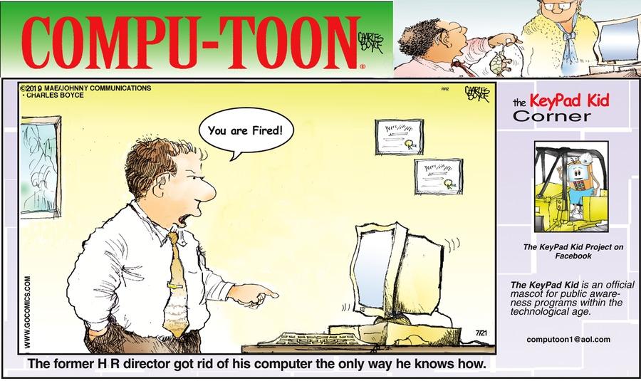 Compu-toon Comic Strip for July 21, 2019