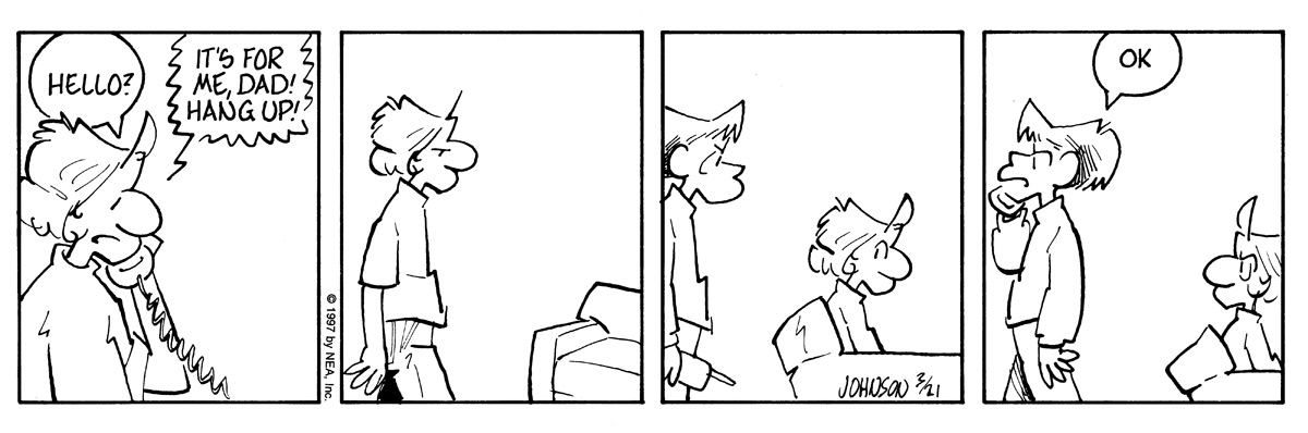 Arlo and Janis Comic Strip for March 21, 1997