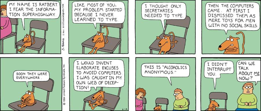 Dilbert Classics Comic Strip for August 06, 2017