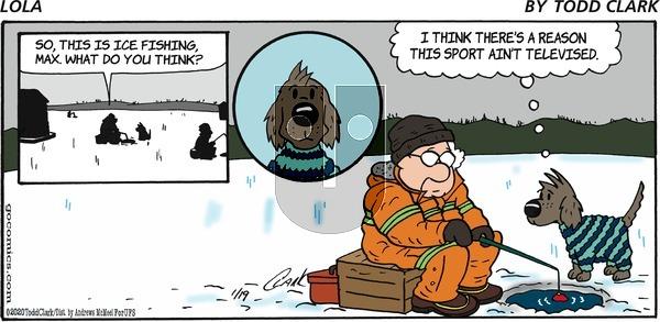 Lola - Sunday January 19, 2020 Comic Strip
