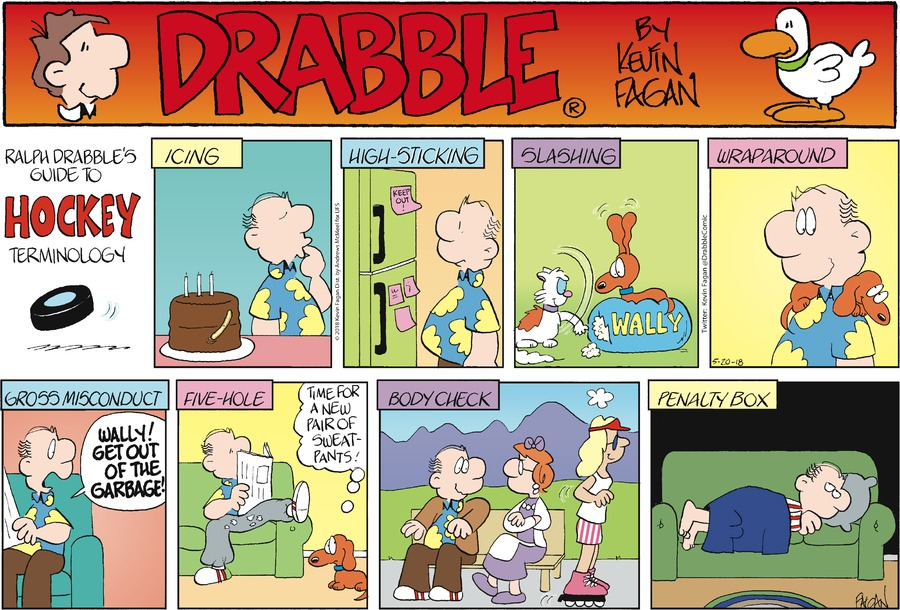Drabble for May 20, 2018 Comic Strip
