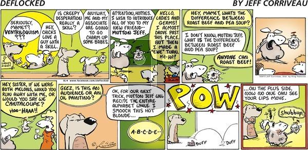 DeFlocked on Sunday August 4, 2013 Comic Strip
