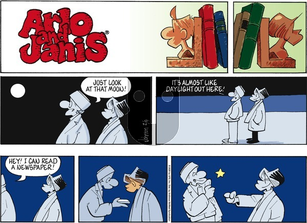 Arlo and Janis on Sunday February 9, 2020 Comic Strip