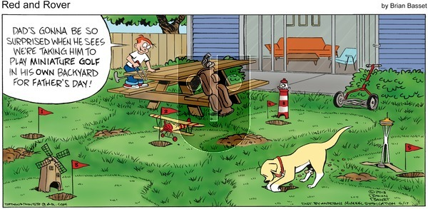 Red and Rover on Sunday June 17, 2018 Comic Strip
