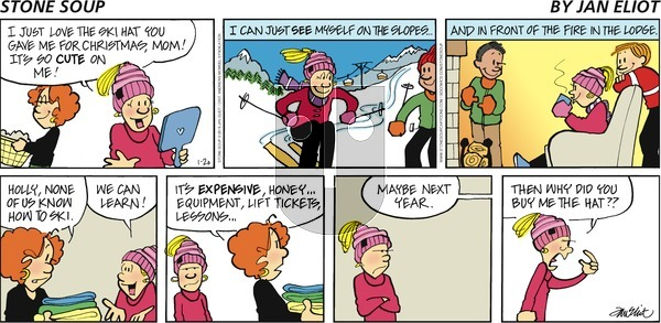 Stone Soup - Sunday January 20, 2019 Comic Strip