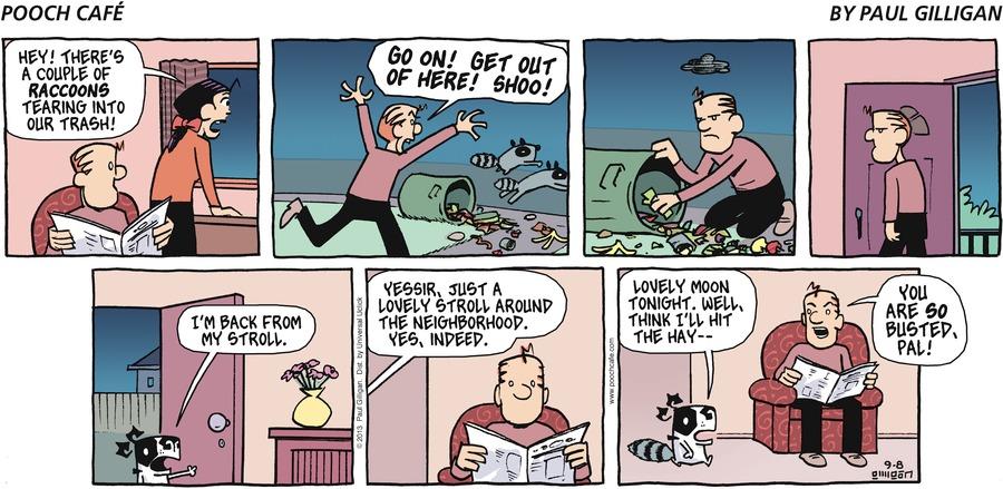 Pooch Cafe Comic Strip for September 08, 2013