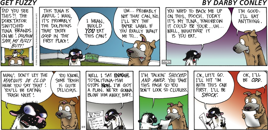 Get Fuzzy Comic Strip for June 09, 2019