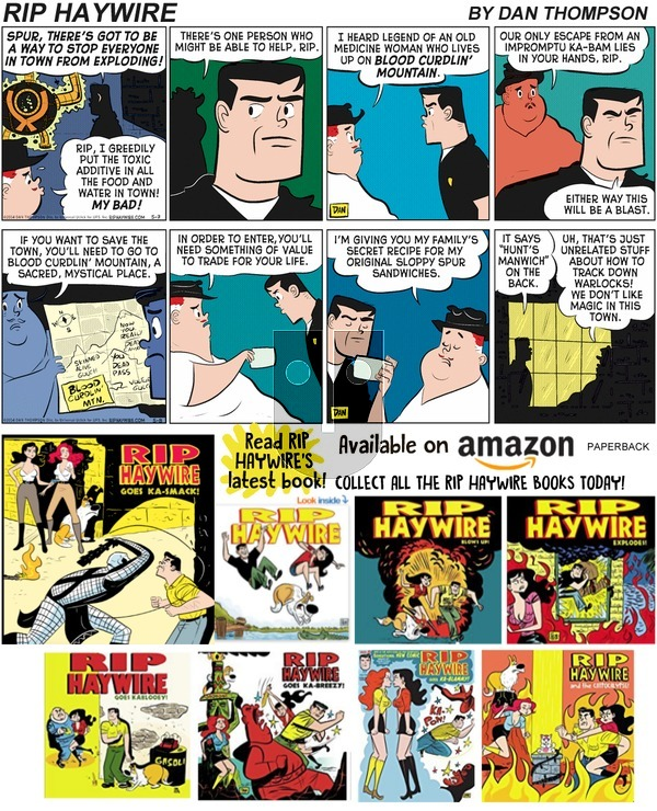 Rip Haywire on Sunday March 31, 2019 Comic Strip