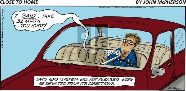 Close to Home on Sunday June 30, 2019 Comic Strip