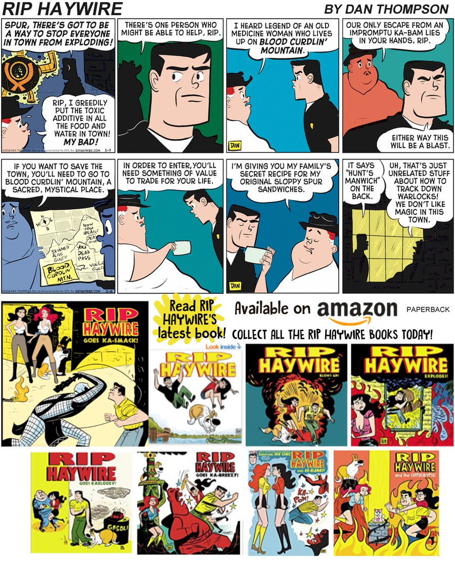 Rip Haywire Comic Strip for March 31, 2019