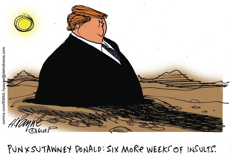 Henry Payne Comic Strip for February 07, 2016