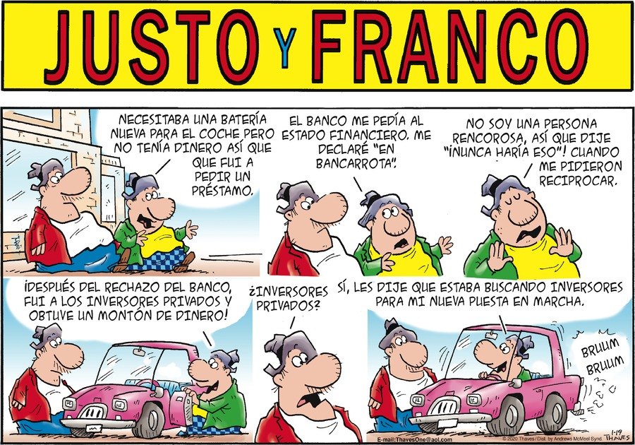 Justo y Franco by Thaves on Sun, 19 Jan 2020