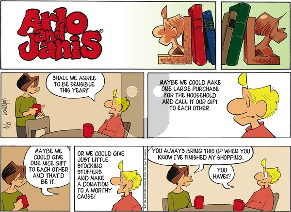 Arlo and Janis on Sunday December 4, 2016 Comic Strip