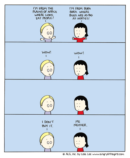 Angry Little Girls Comic Strip for November 24, 2011