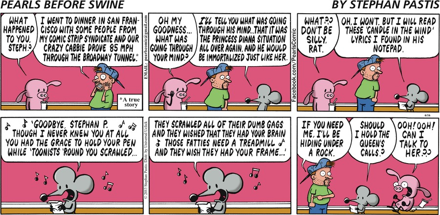Pearls Before Swine Comic Strip for June 16, 2013