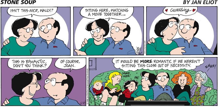 Stone Soup Classics Comic Strip for April 01, 2018
