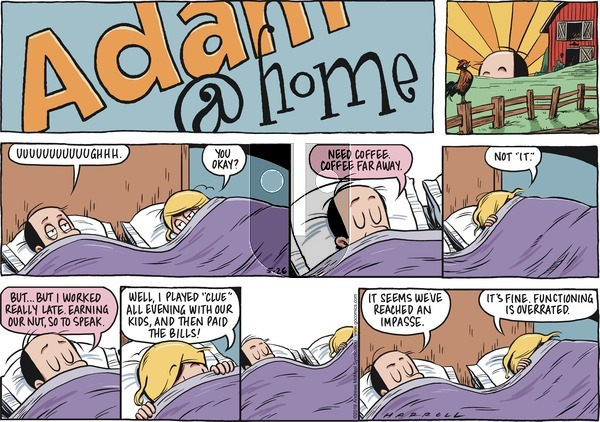 Adam@Home on Sunday May 26, 2019 Comic Strip