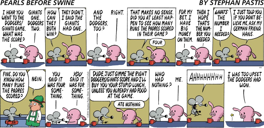Pearls Before Swine Comic Strip for June 05, 2016