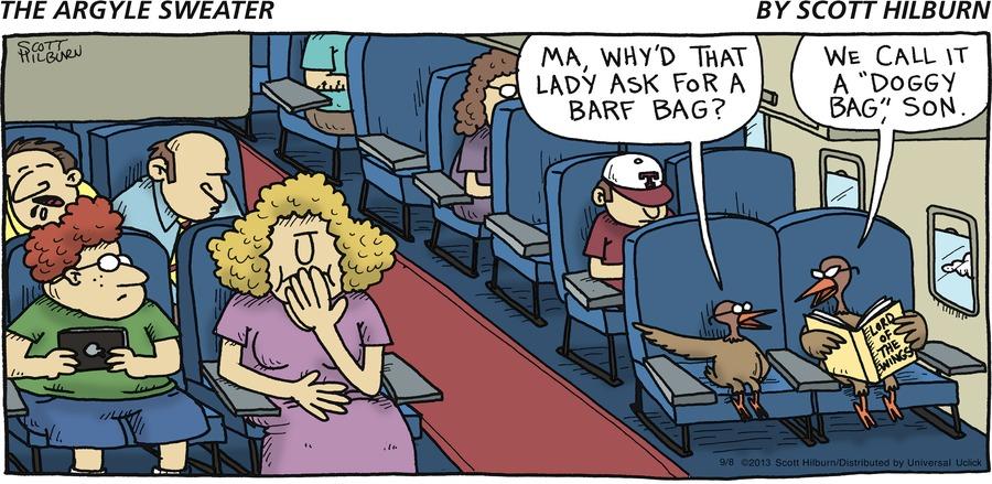 The Argyle Sweater Comic Strip for September 08, 2013