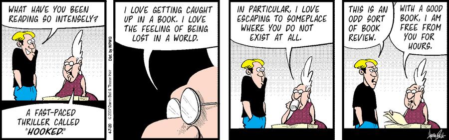 Rudy Park Comic Strip for April 07, 2020