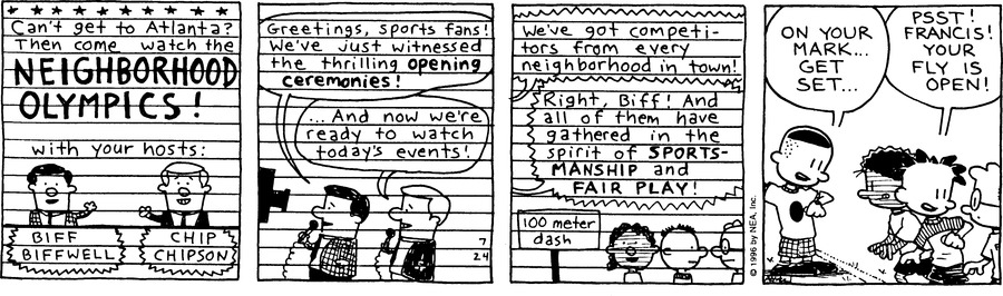 Big Nate: First Class Comic Strip for July 25, 2021