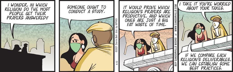 Candorville Comic Strip for April 13, 2021