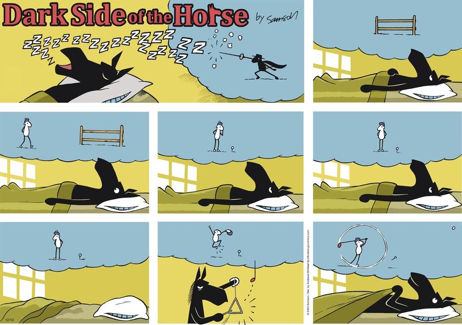 Dark Side of the Horse Comic Strip for December 13, 2020