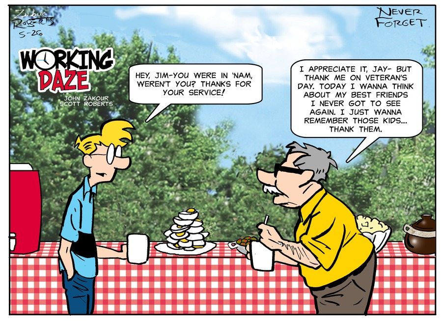 Working Daze Comic Strip for May 26, 2019