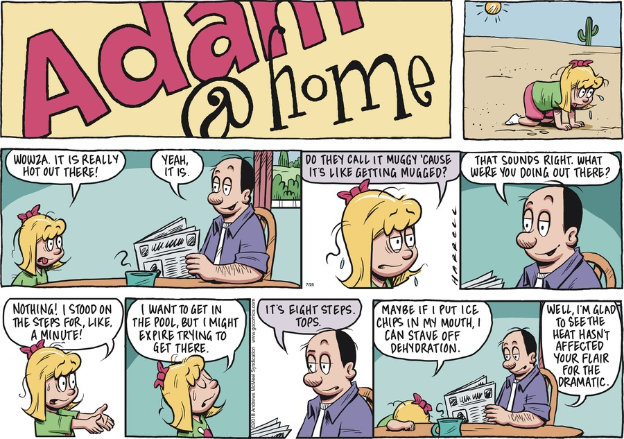 Adam@Home Comic Strip for July 25, 2021