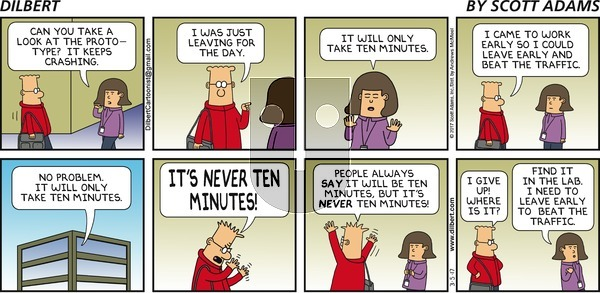 Dilbert on Sunday March 5, 2017 Comic Strip
