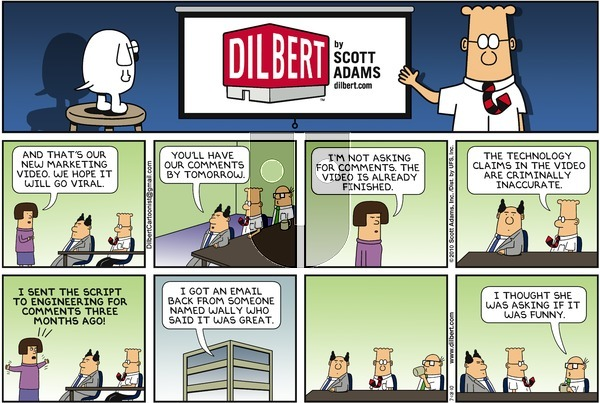 Dilbert on Sunday July 18, 2010 Comic Strip