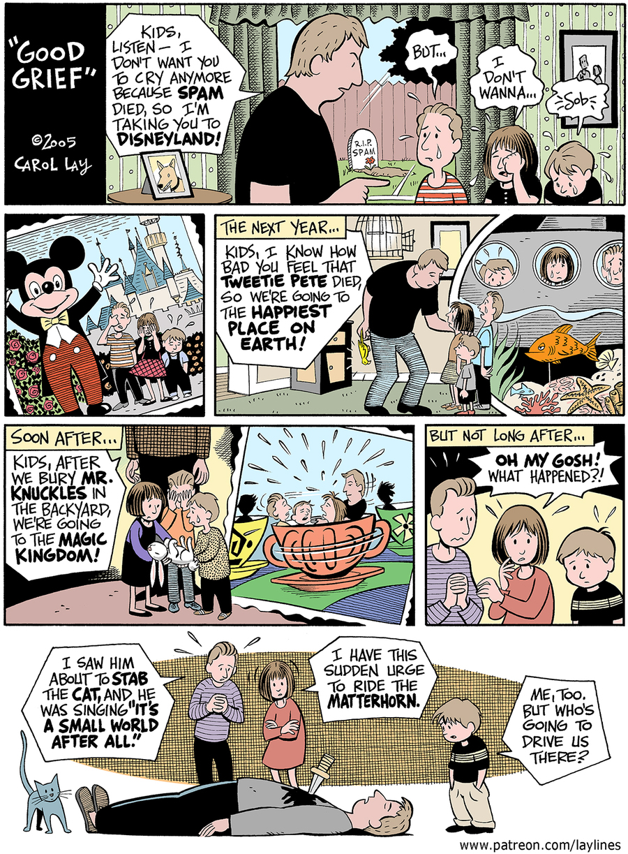 Lay Lines Comic Strip for November 23, 2016