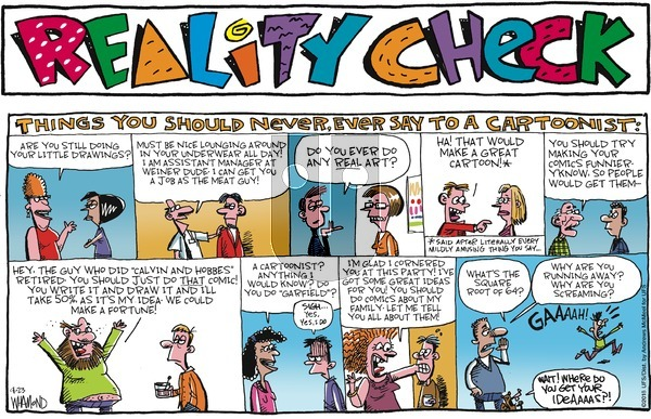 Reality Check on Sunday September 23, 2018 Comic Strip