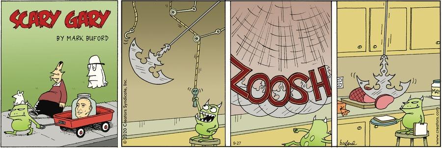 Scary Gary Comic Strip for September 27, 2020