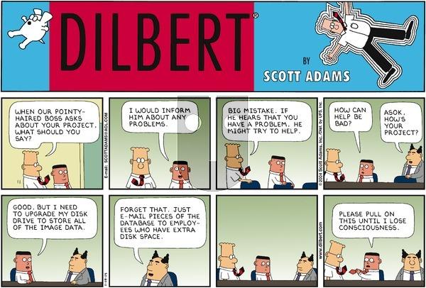 Dilbert - Sunday November 28, 2004 Comic Strip