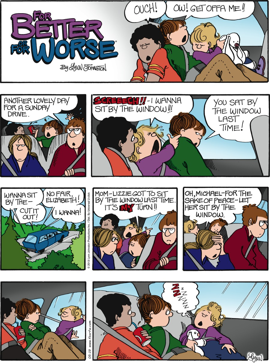 For Better or For Worse for May 19, 2013 Comic Strip