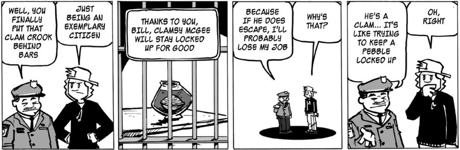 Ordinary Bill Comic Strip for May 15, 2015