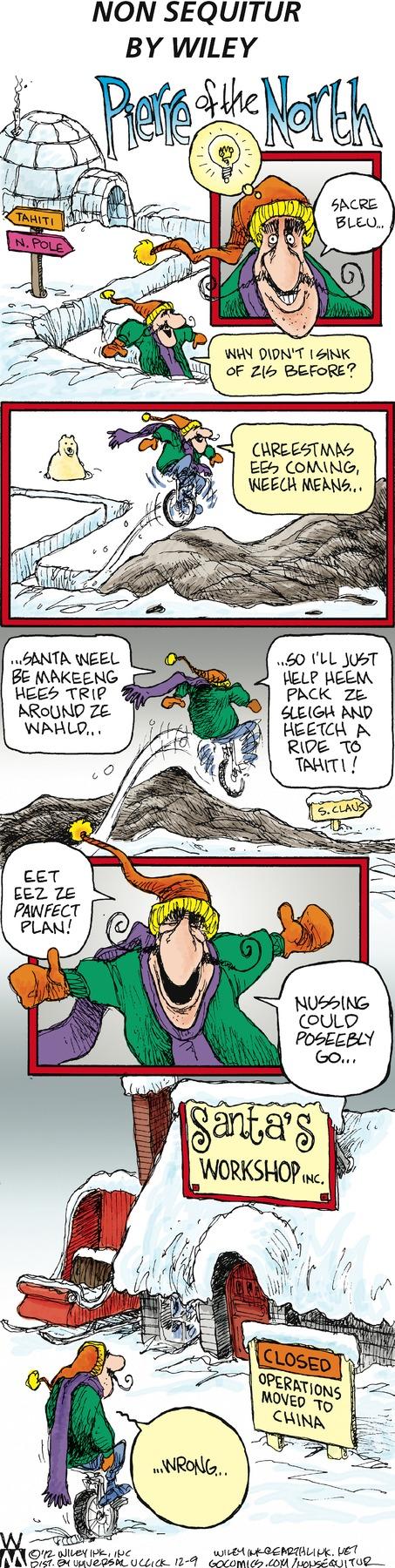Non Sequitur for Dec 9, 2012 Comic Strip