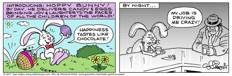 Looks Good on Paper Comic Strip for March 29, 2020