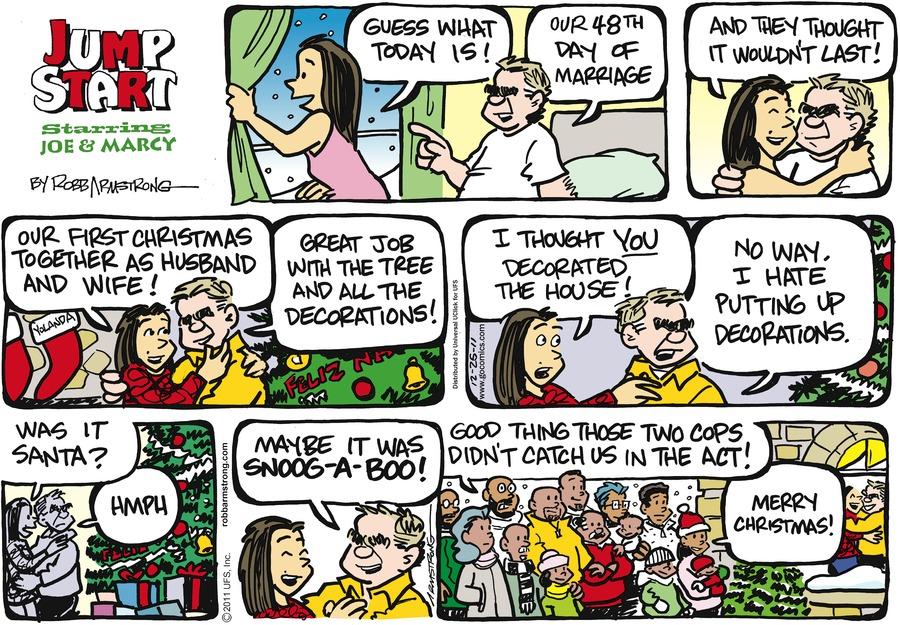 JumpStart for Dec 25, 2011 Comic Strip