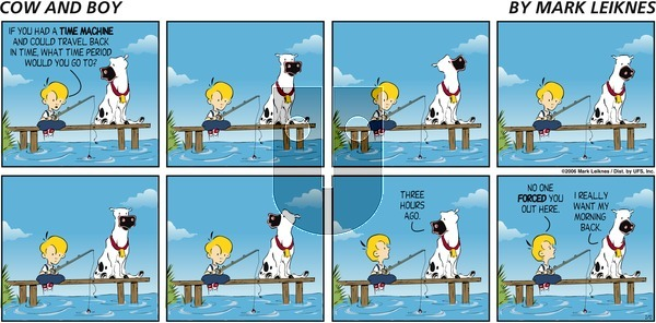Cow and Boy Classics - Thursday October 10, 2019 Comic Strip